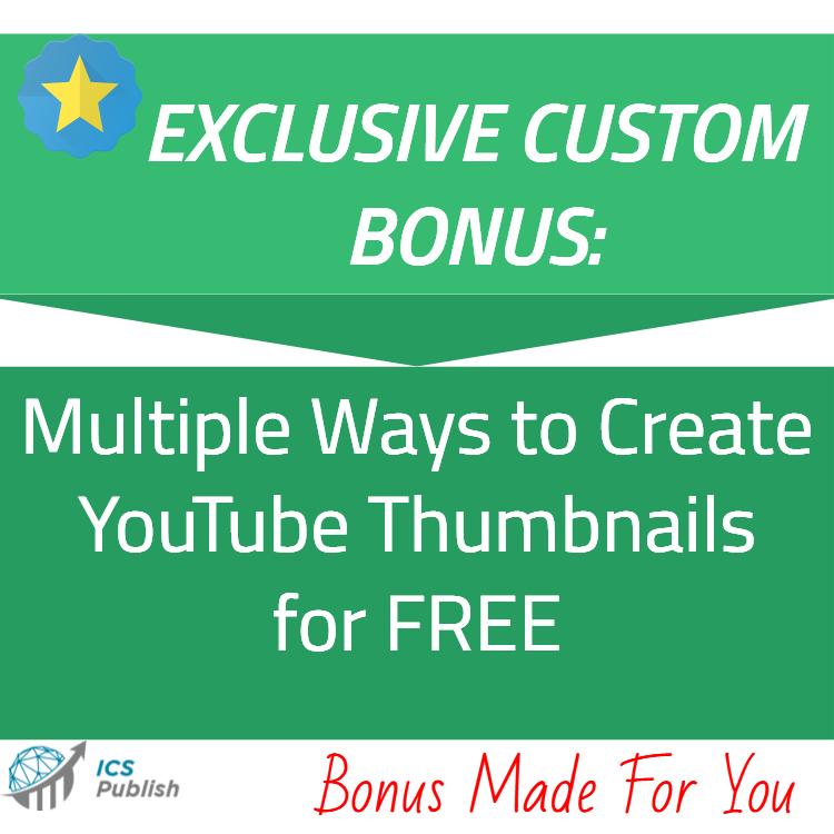 Multiple ways to create YT thumbnails free bonus